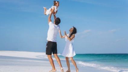 Andare in vacanza con i bambini piccoli