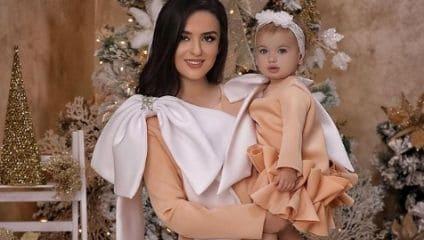 Vestiti coordinati mamma e figli per le feste